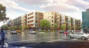 Rendering of Transwestern Development project in Austin.