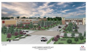 Rendering of NewQuest project in Shreveport, La.