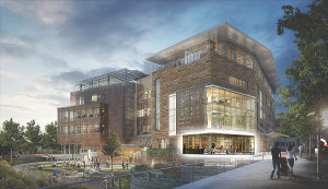 Rendering of Austin Central Library