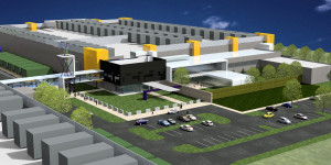 Rendering of RagingWire Data facility in North Texas.