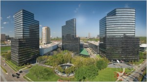 The Cresa real estate firm has moved its offices to the Post Oak Central complex in Uptown Houston.