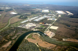 The 15,000-acre Cedar Port industrial park in Baytown, east of Houston.