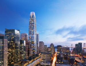 Rendering of Salesforce Tower.