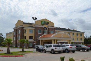 Holliday Inn in Tomball.