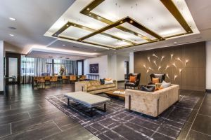 Interior of Folio West, a new multifamily project by Patrinely Group in West Houston.