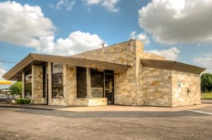 Bacco Win Lounge leased this freestanding building on the banks of Brays Bayou in southwest Houston.
