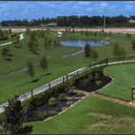 The Stonebrook Estates in north Harris County is analyzed in a case study in a new ULI report on sustainable drainage. Photo: Terra Visions