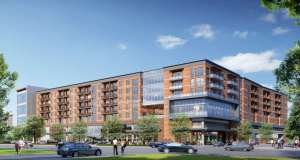 Rendering of Buffalo Heights development.