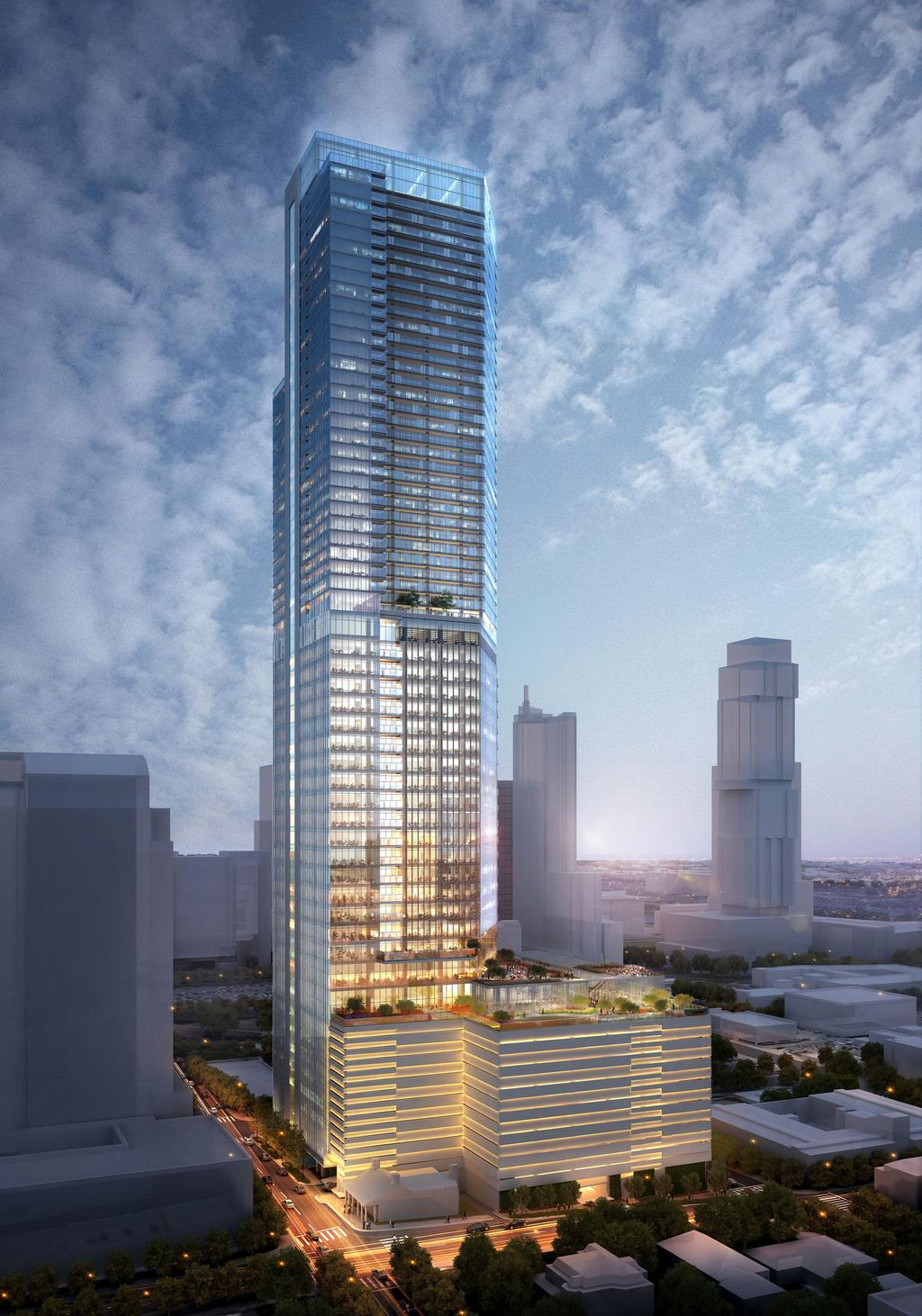 62 Story Tower Will Be The Tallest Building In Austin