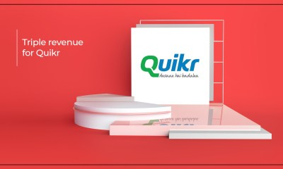 Quikr Boasts A 3X Growth In Its Realty Vertical Revenue