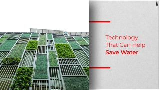 Using Water Efficient Technologies In Green Buildings