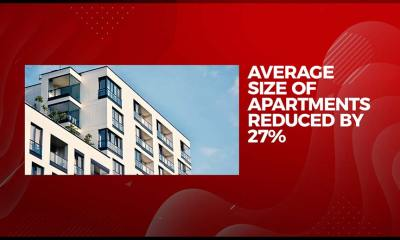 Apartment Sizes Decline Across Major Property Markets