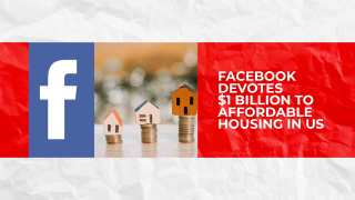 Facebook devotes $1 billion to affordable housing in US