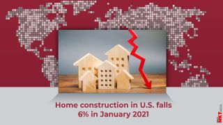 Home construction in U.S. falls