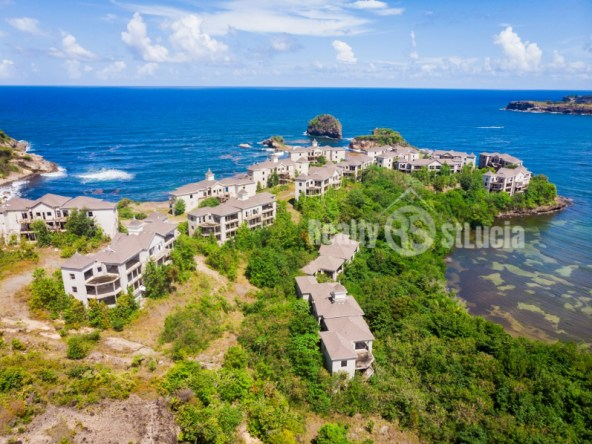 unfinshed resort for sale in st lucia