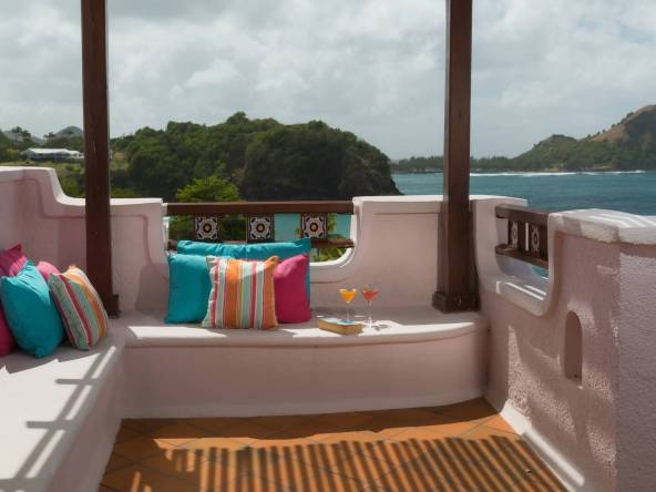 Ocean Front Villas at Cap Estate St Lucia