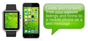 SMS contact forms are a marketing trends for real estate listings