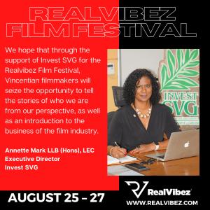 Invest SVG welcomes the RealVibez Film Festival