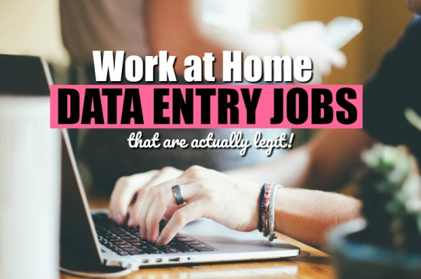 Data Entry Jobs From Home - Who's Hiring & How It Works