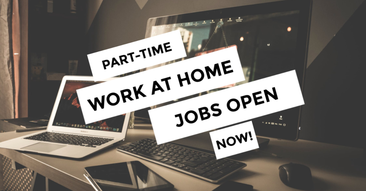 Part Time Work From Home Jobs 10 Companies Hiring
