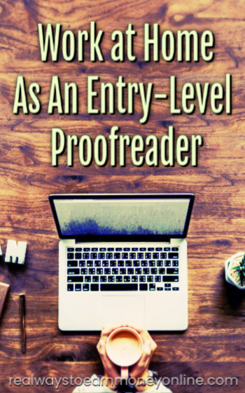 How to find entry level proofreading jobs online.