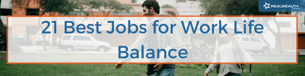 21 Best Jobs For Work Life Balance Image