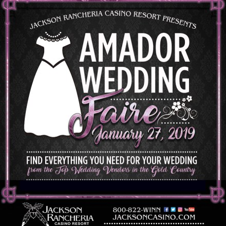 Jackson Wedding Show | Sacramento Bridal Show | Jackson Rancheria Casino
