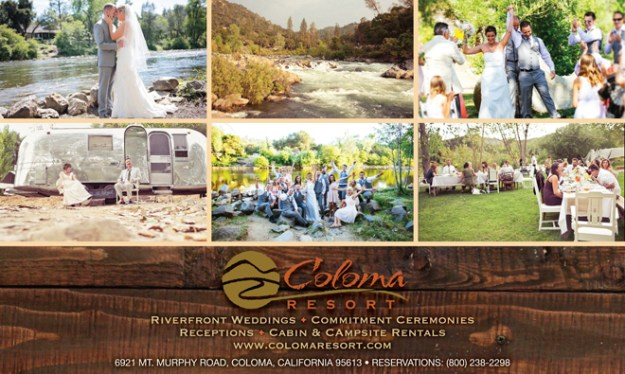 Sacramento Placerville Lotus Wedding Venue | Outdoor Wedding Venue | Camping Venue | Campground