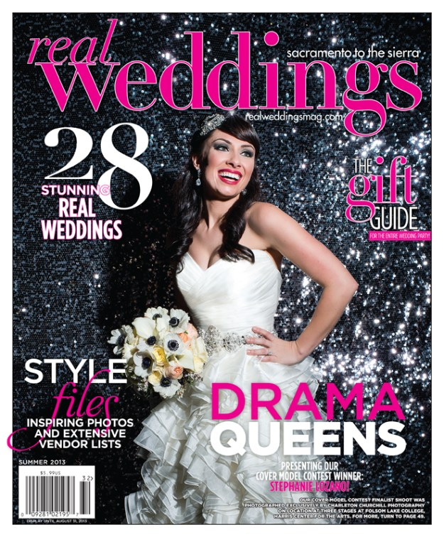 Real Weddings Magazine Has a New Cover Model Winner!
