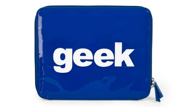 Geek iPad Case
