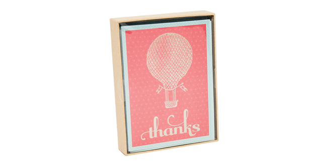 Galison Thank You Notes
