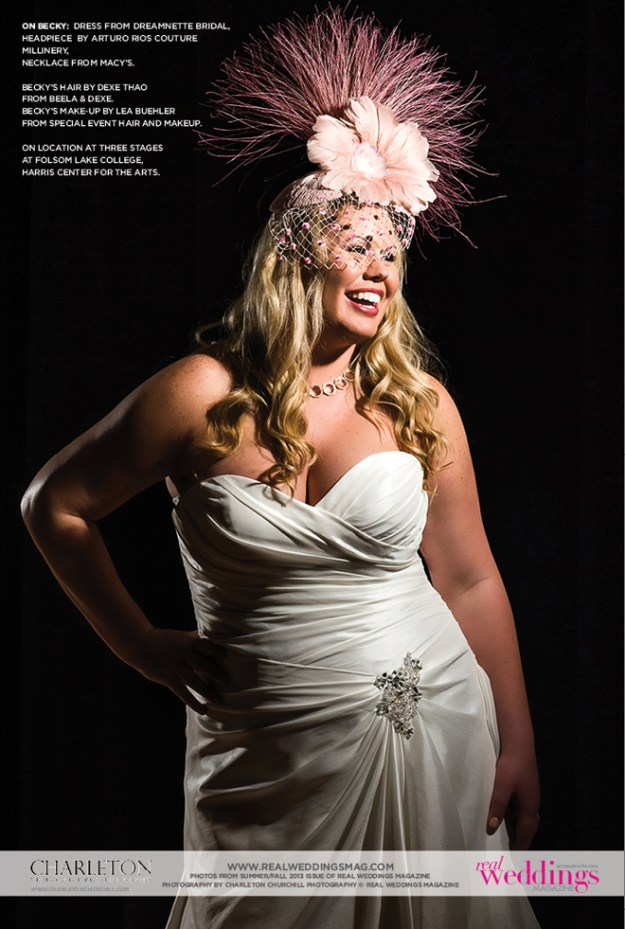 Real Weddings Cover Model Finalist: Becky Rust {Drama Queens}