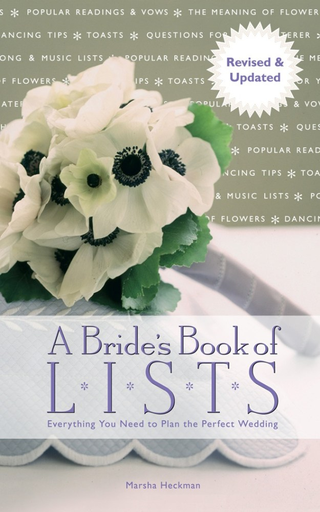 Real Weddings: For Your Review – A Bride's Book of Lists: Everything You Need To Plan The Perfect Wedding