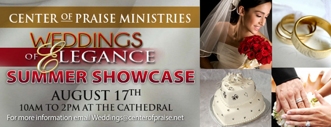 Weddings of Elegance bulletin web banner