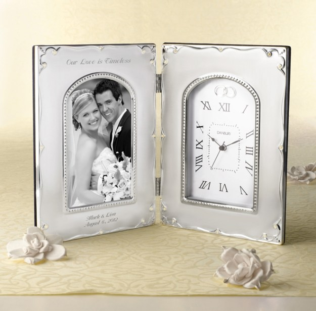 4X6 Forever Yours Frame_Clock
