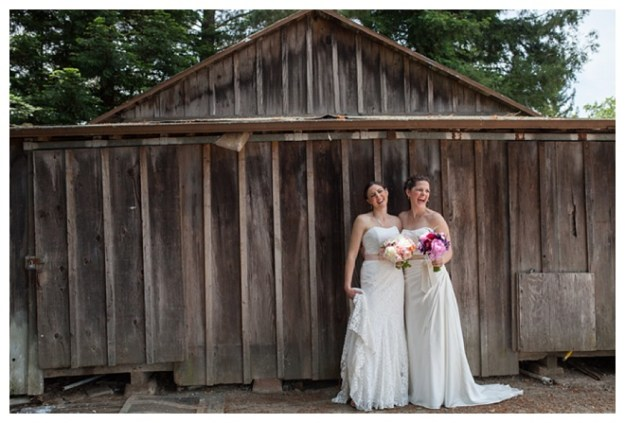Featured Real Wedding: Emily & Shannon {from the Winter/Spring 2014 Issue of Real Weddings Magazine}
