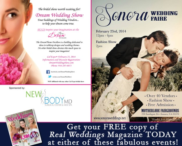 FREE COPY of Real Weddings Magazine