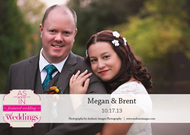 Featured Real Wedding: Megan & Brent {from the Summer/Fall 2014 Issue of Real Weddings Magazine}