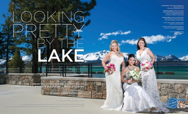 Real Weddings Magazine: Looking Pretty by the Lake {The Layout}