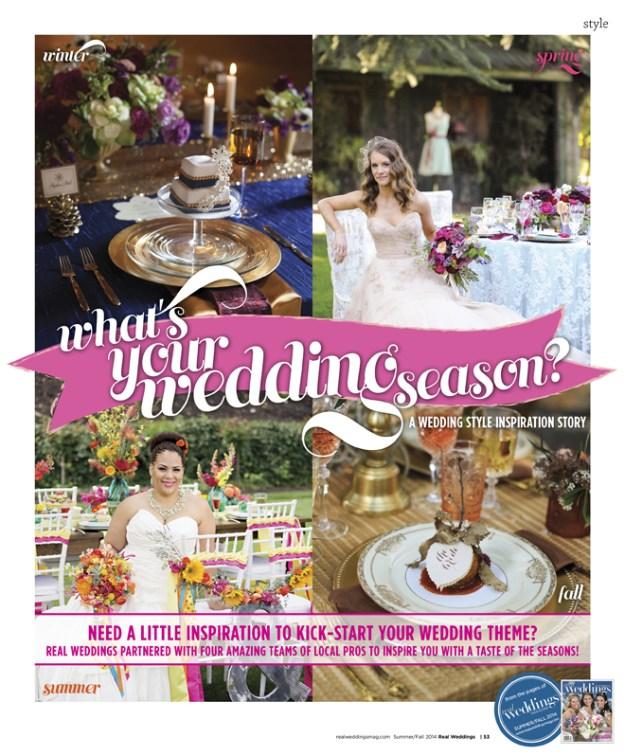 Sacramento Wedding Inspiration: What's Your Wedding Season: Summer {The Layout}