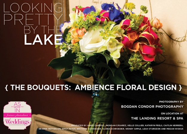 Sacramento Wedding Flowers: Looking Pretty by the Lake {The Bouquets: Ambience Floral Design}