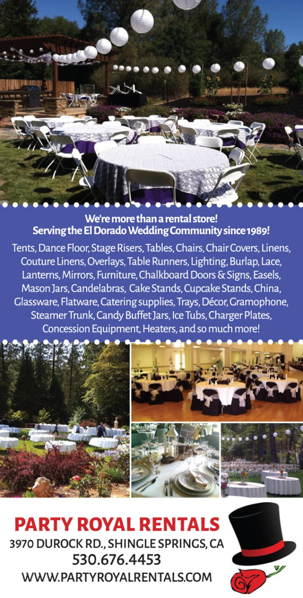Shingle Springs Wedding Rentals: Wedding Pro Spotlight {Party Royal Rentals}