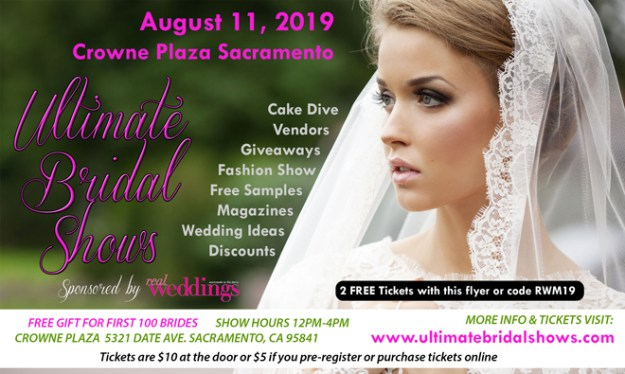 Best Sacramento Wedding Show | Luxury Wedding Shows | Luxury Bridal Show | Sacramento Bridal Show | Ultimate Bridal Show