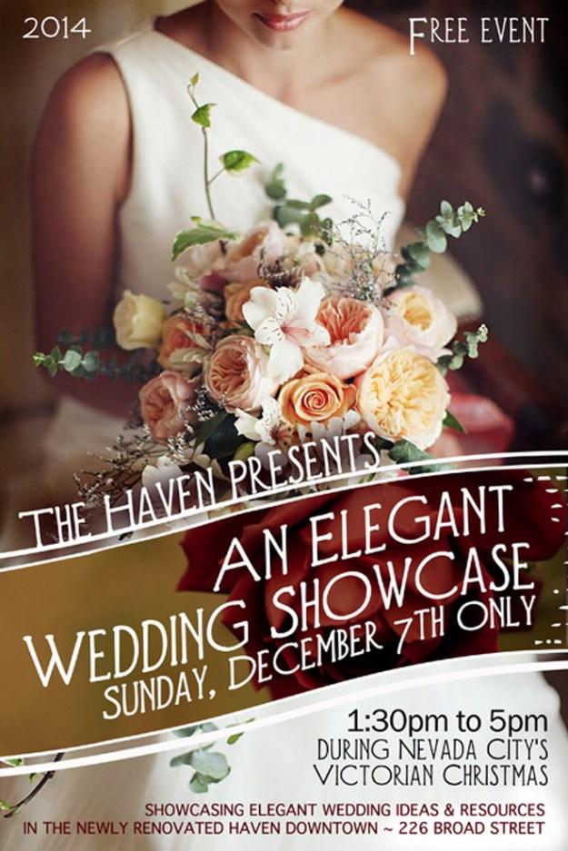 Sacramento Wedding Event: Reminder {Elegant Wedding Showcase is TOMORROW}
