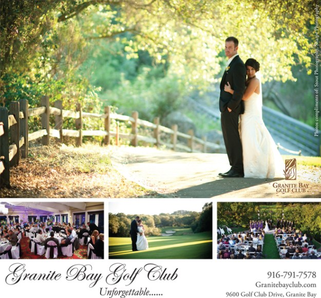 Sacramento Wedding Event: Reminder {Granite Bay Golf Club's Wedding Open House}