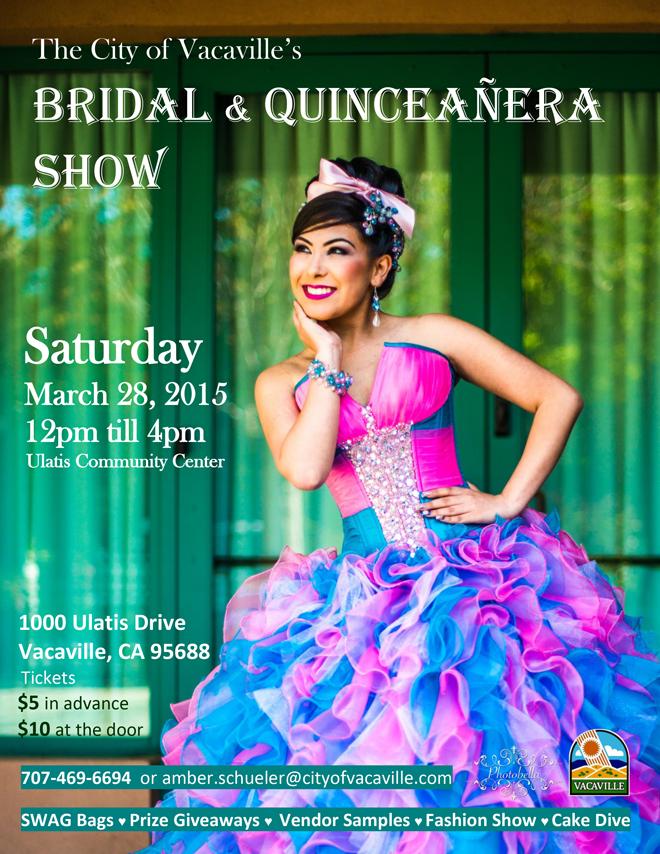 2015 Bridal Quinceañera Flyer