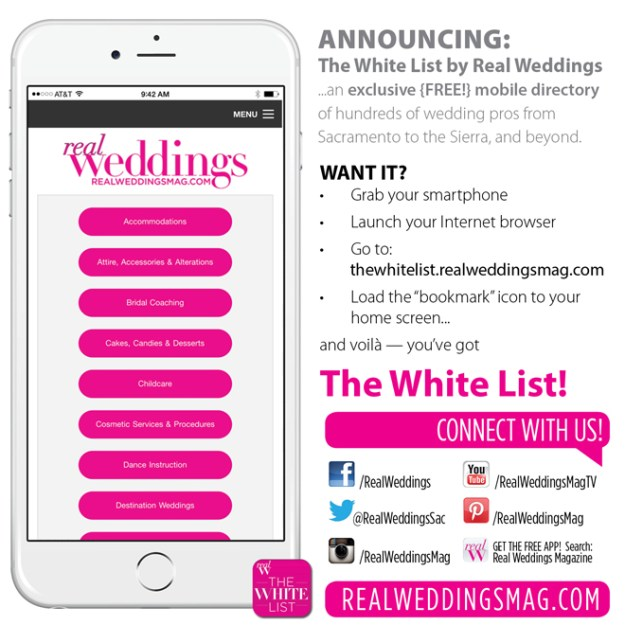 Sacramento Wedding Planning: Who's Engaged? Plan your Wedding with Real Weddings Magazine!