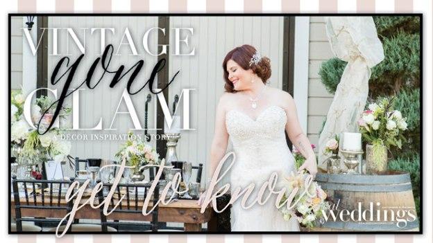 Sacramento Wedding Inspiration: Vintage Gone Glam – Styled Shoot Blog Series {Get To Know: Shelagh Schiro}