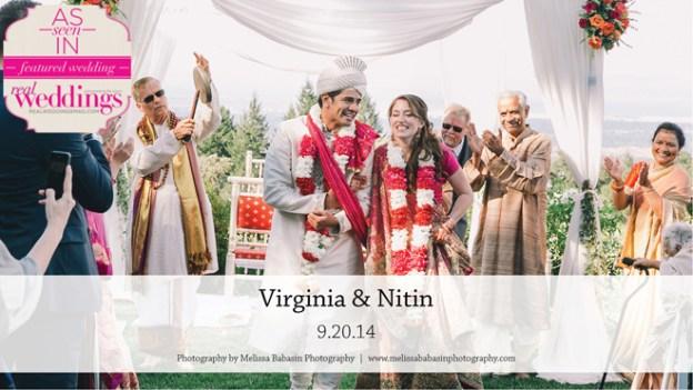 Santa Cruz Wedding Inspiration: Virginia & Nitin {from the Summer/Fall 2015 Issue of Real Weddings Magazine}