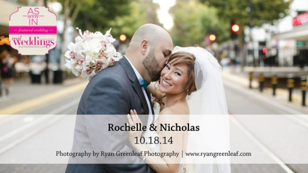Sacramento Wedding Inspiration: Rochelle & Nicholas {from the Summer/Fall 2015 Issue of Real Weddings Magazine}